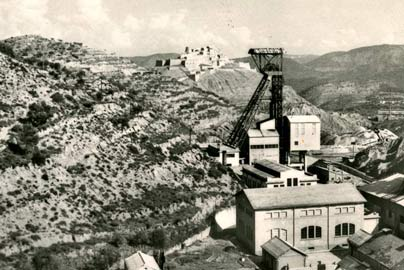 Pozo María Teresa, 1950