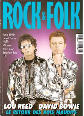 David Bowie en couveture de Rock & Folk en 1996