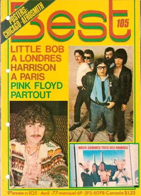 George Harrison en couverture de Best en 1977