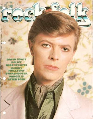 David Bowie en couverture de Rock & Folk en 1979