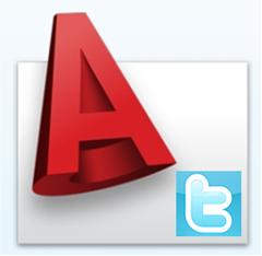 AutoCAD Twitter