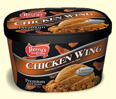 Perry's Chicken Wing Ice Cream