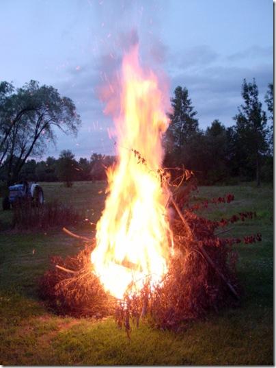 Fire - good!