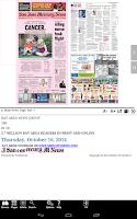 Screenshot of San Jose Mercury News eEdition