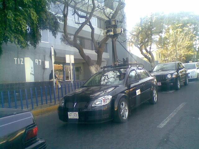 Google Street View pronto en Mexico Googlecar-gdl
