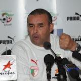 EN : Benchikha : «Ceux qui nont pas convaincu face au Tchad ne seront plus convoqués»