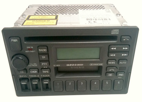 Sc-805 HeadUnit for Sale (with CODE) - Volvo Owners Club Forum
