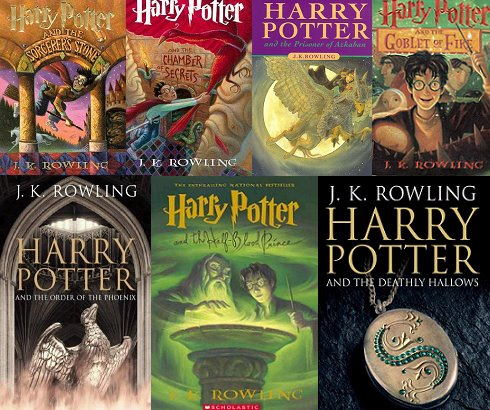 harry potter novel