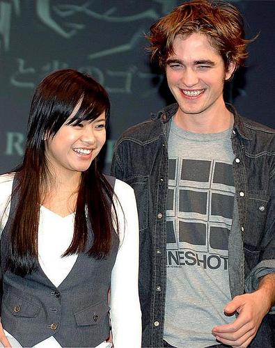 Robert Pattinson Katie Leung