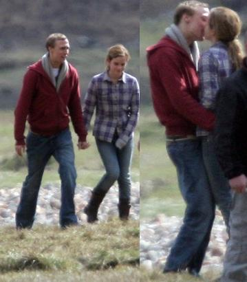 Rupert Grint And Emma Watson Kiss. Rupert emma watson kisses