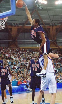 Vince Carter Olympic dunk
