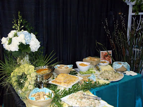 2010 Charleston Bridal Show Hamby Catering Booth