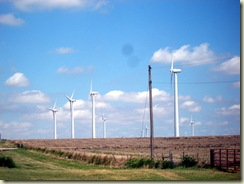 hundreds of windmills in weatherford
