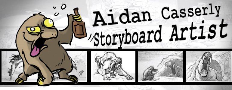 Aidan Casserly - Storyboard Artist