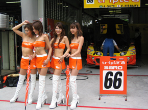 Race girls