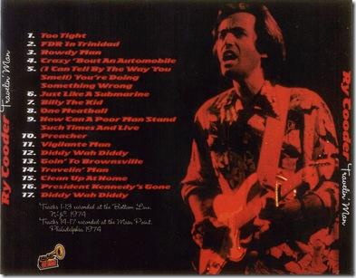 0834 - Traveling Man - 1974-05-16 - Ry Cooder - 2
