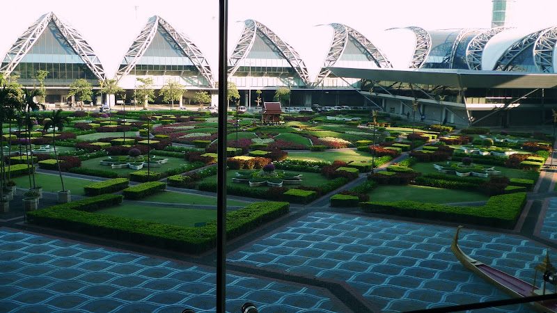 Bangkok Trip at airport