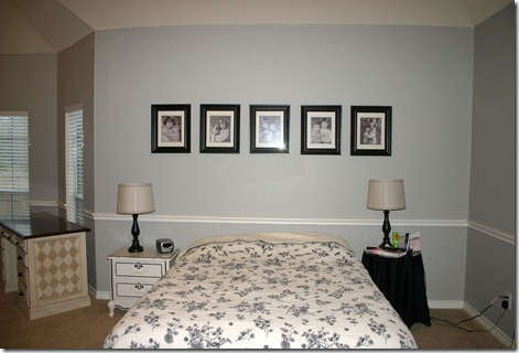 Mud Pie Studio: Painting a Gray Master Bedroom