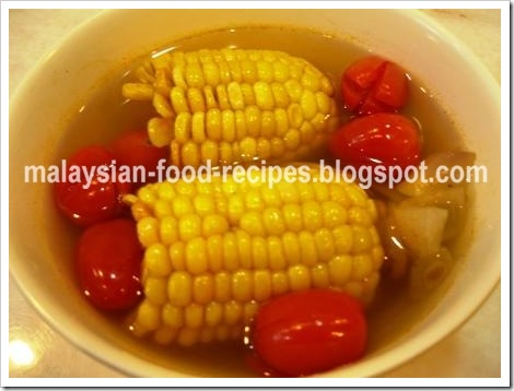 Clear corn soup malaysian food recipes now lets look at my clear corn soup recipe forumfinder Choice Image