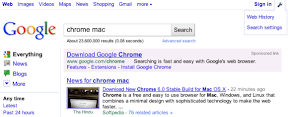 Google Search Test September 2010