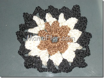 Crochet: Pastilla en Alto relieve