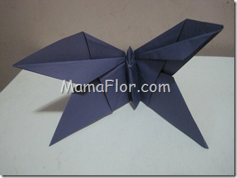 Papel : Mariposa de papel