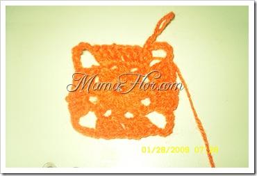 Pastilla Cuadrada Tejida a Crochet I…