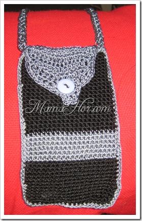 Crochet: Portacelular Bicolor…