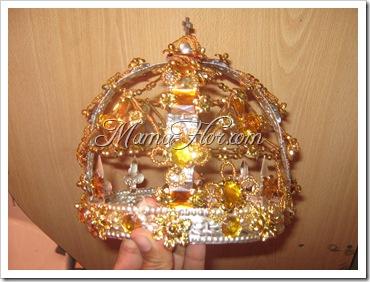 Cómo hacer una Corona para Reynas | Bisutería