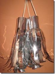 Reciclaje de Papel : Pompones de Papel metálico…