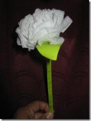 Aprende a hacer Flores de Papel: Clavel hecho con Papel Higiénico
