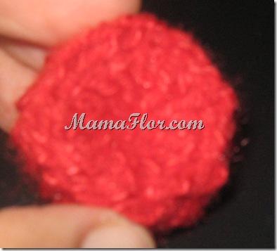 Crochet: Botón Peruano…