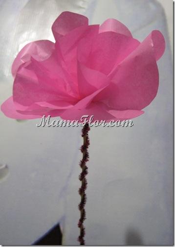 Flores de Papel (segundo diseño)