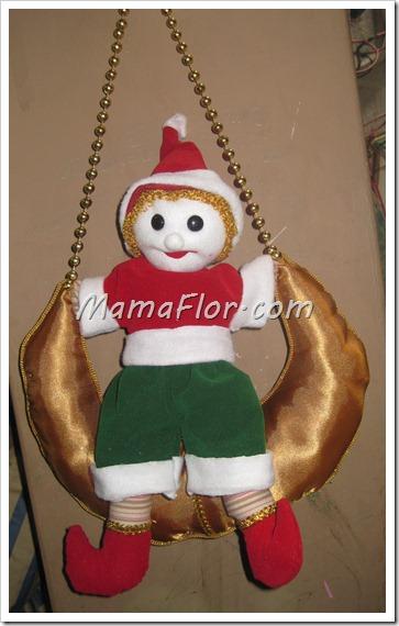 Duende de Trapo para decorar la Casa de Navidad