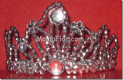 Bijoutería: Corona para Reynas (Modelo 5)