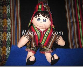 Como hacer un muñeco vestido de serrano