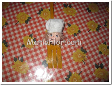 Ideas para decorar tu cocina :: Cucharas de madera