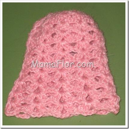 Falda de Hilo Tejida a Crochet
