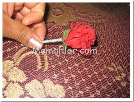 Como hacer una flor para el dia de la madre