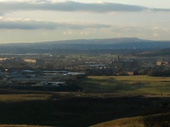 Oldham - view from high - a geographically diverse constituency