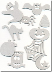 Halloween Chipboard