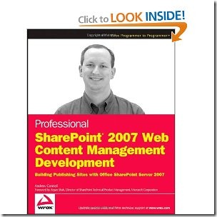 Professional SharePoint 2007 Web Content Management Development – Free Download