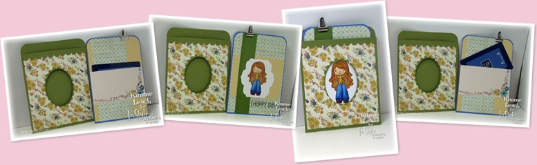 View Double Pocket Window Card