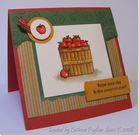11-1-08 Sweet Apple Card
