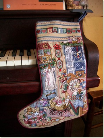 Gail's Christmas stocking