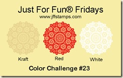 Just for Fun Red, Kraft White