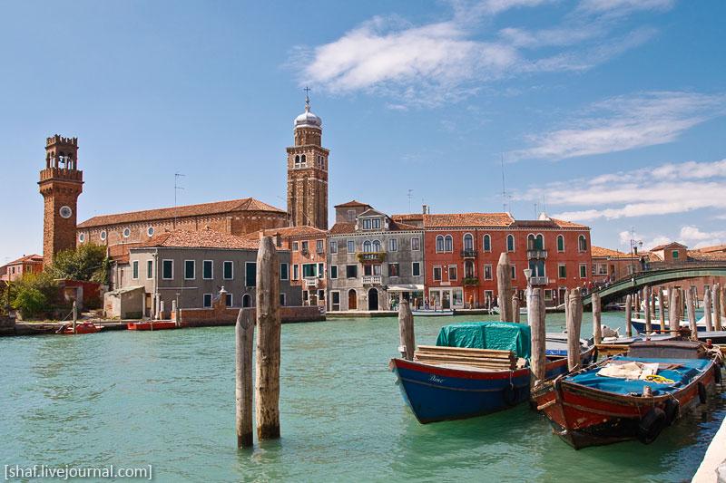 Италия, остров Мурано | Venezia, Murano, Italy | Benatky, Italie