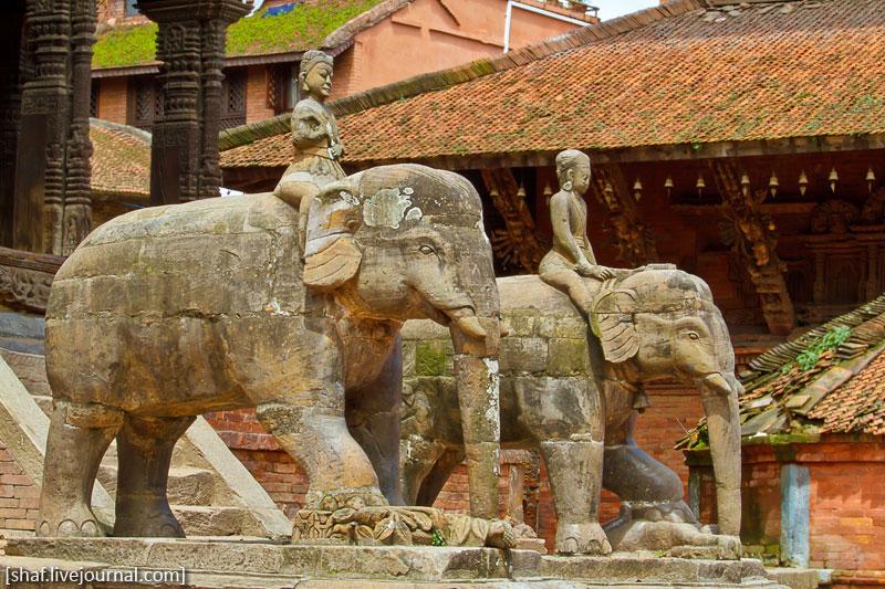 площадь Дурбар, Патан (Лалитпур), Непал | Durbar square, Patan (Lalitpur), Nepal
