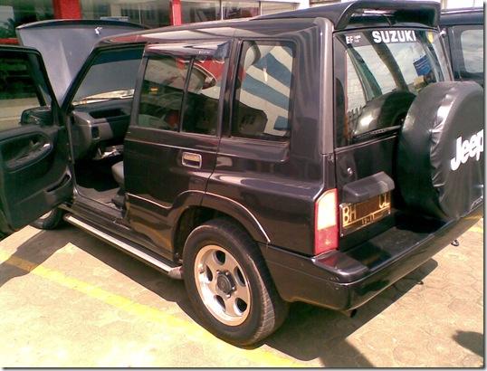 mobil bekas jambi suzuki escudo nomade th 2000 sudah terjual. Black Bedroom Furniture Sets. Home Design Ideas