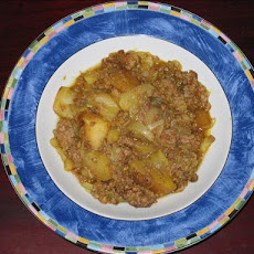 Ground Beef and Potato Curry